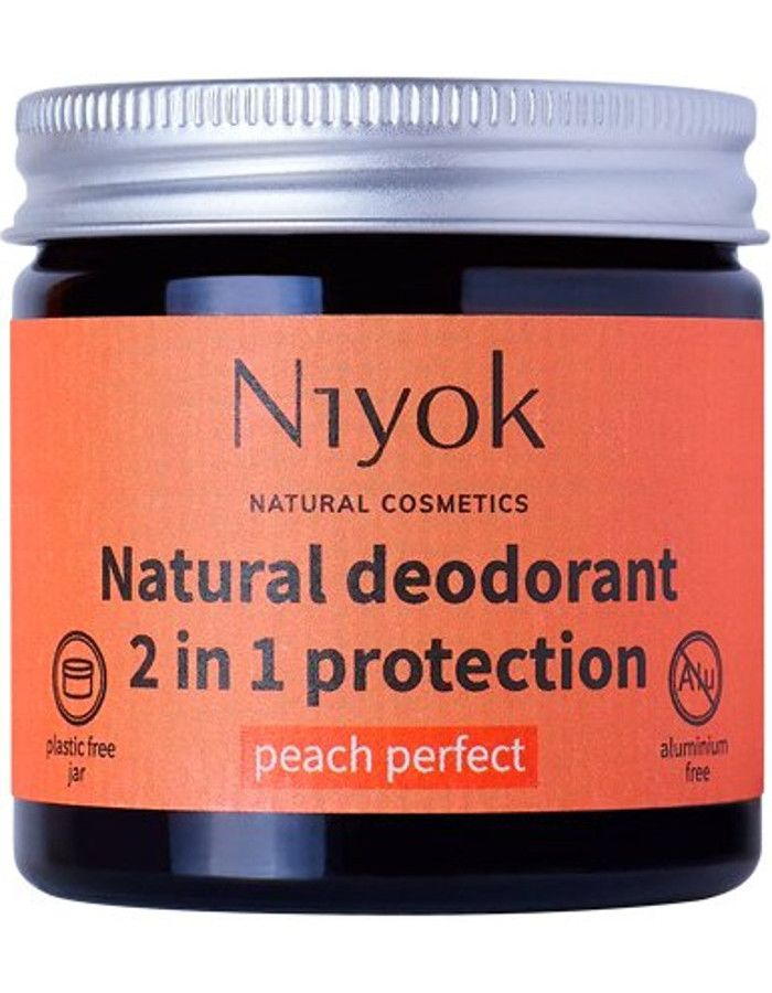 Niyok Natural Deodorant 2 in 1 Protection Peach Perfect 40ml
