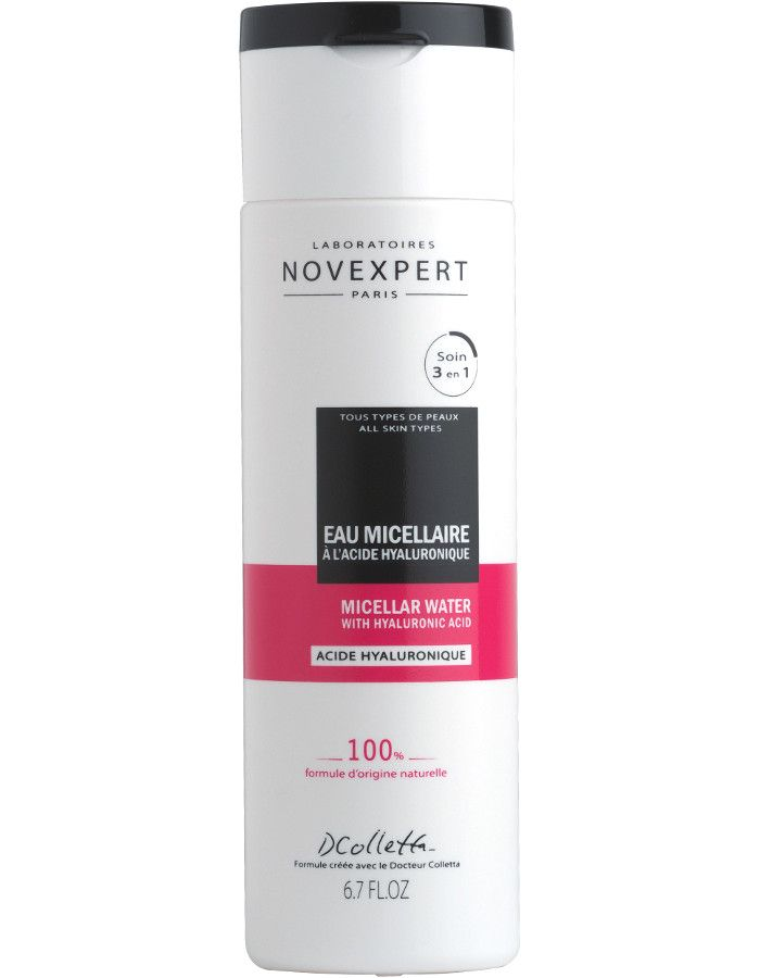 Novexpert 3 in 1 Miscellar Water Hyaluron Acid 200ml