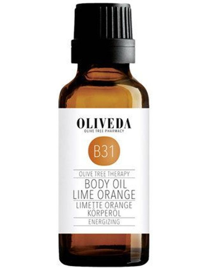 Oliveda B31 Energizing Body Oil Lime Orange Sample 30ml