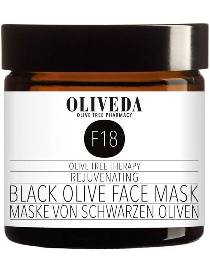 Oliveda F18 Rejuvenating Black Olive Face Mask 60ml
