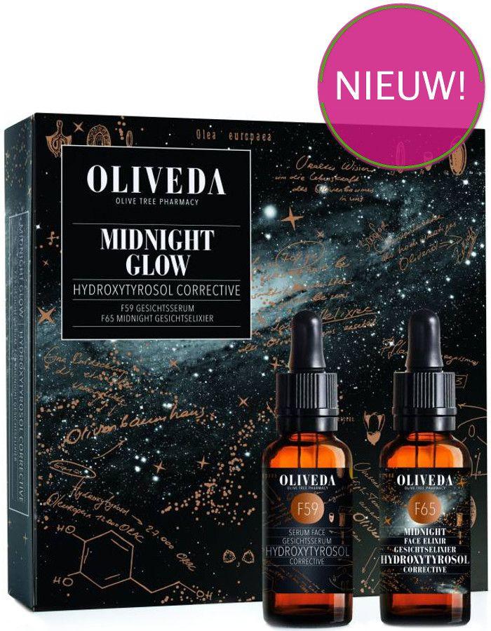 Oliveda Midnight Glow F59 Serum 30ml + F65 Serum 30ml Cadeauset 2-Delig