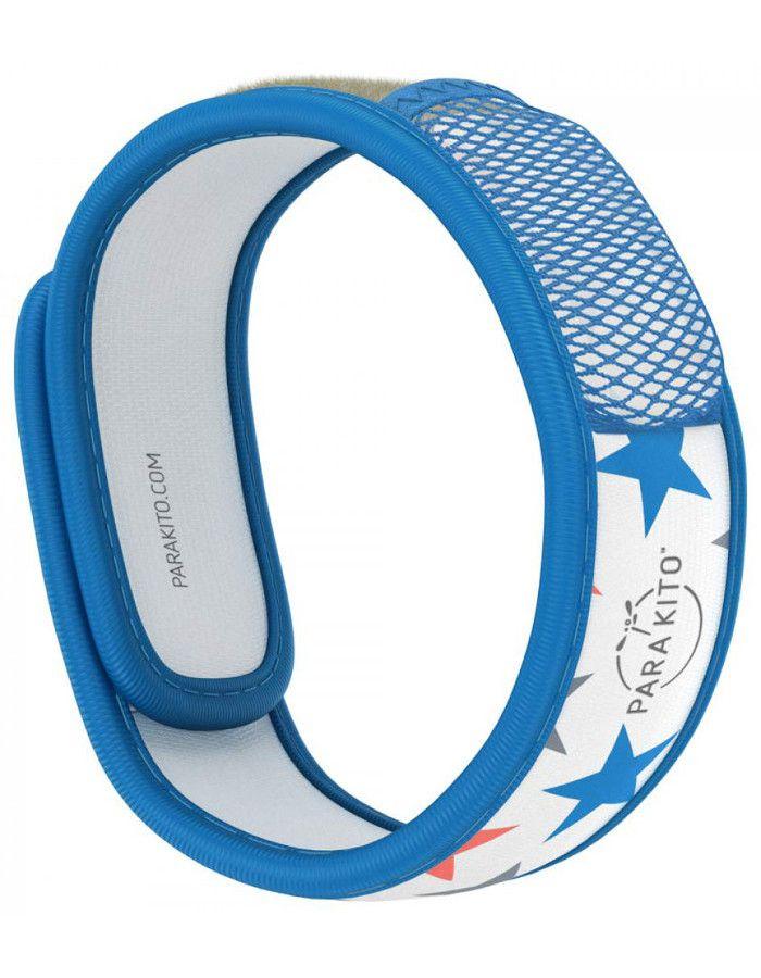 Parakito Polsband Natuurlijke Bescherming Tegen Muggen Design Blauw