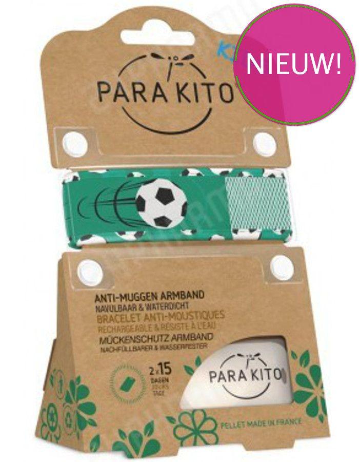 Parakito Polsband Natuurlijke Bescherming Tegen Muggen Kids Voetbal