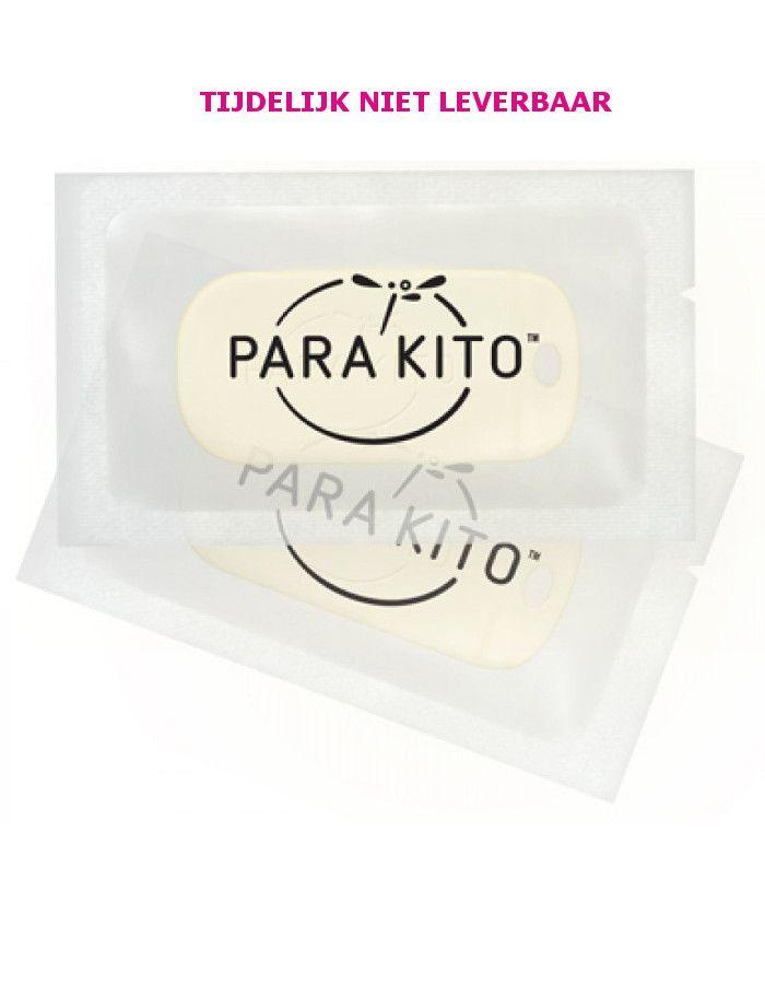 Parakito Polsband Natuurlijke Bescherming Tegen Muggen Navulling 2st