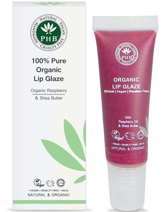 PHB Ethical Beauty 100% Pure Organic Lip Glaze Mulberry