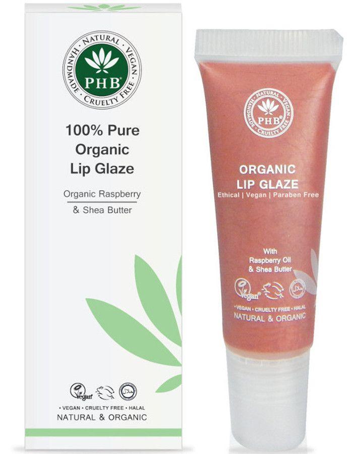 PHB Ethical Beauty 100% Pure Organic Lip Glaze Petal