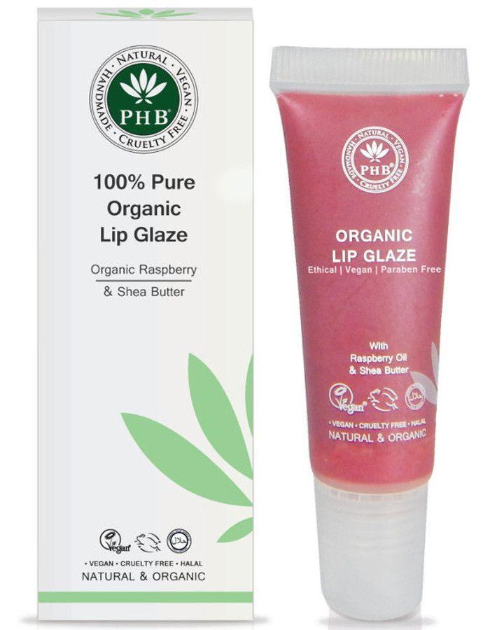 PHB Ethical Beauty 100% Pure Organic Lip Glaze Raspberry
