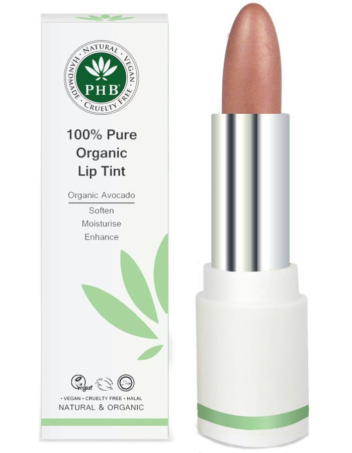 PHB Ethical Beauty 100% Pure Organic Lip Tint Blossom
