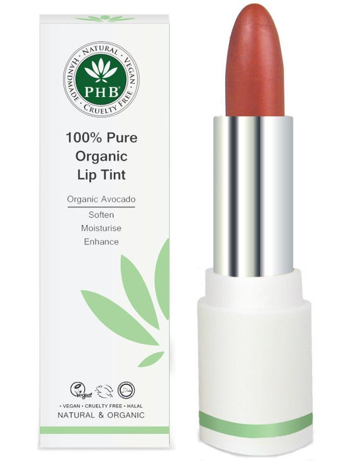 PHB Ethical Beauty 100% Pure Organic Lip Tint Cranberry