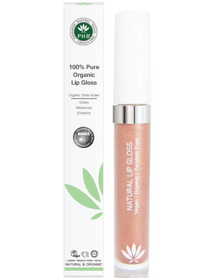 PHB Ethical Beauty 100% Pure Organic Lipgloss Blossom