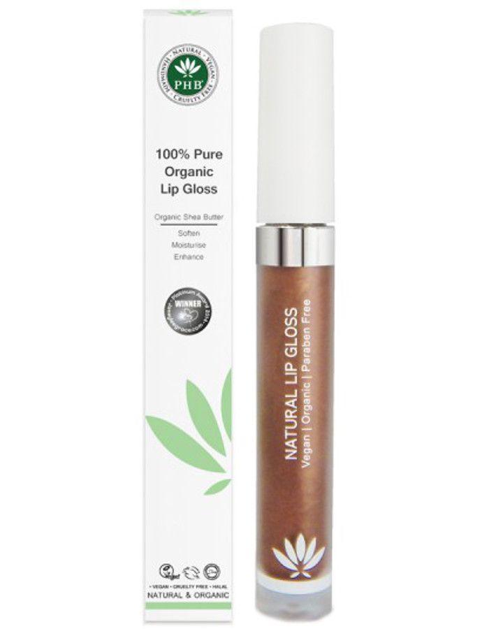 PHB Ethical Beauty 100% Pure Organic Lipgloss Cocoa
