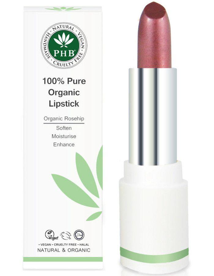 PHB Ethical Beauty 100% Pure Organic Lipstick Plum