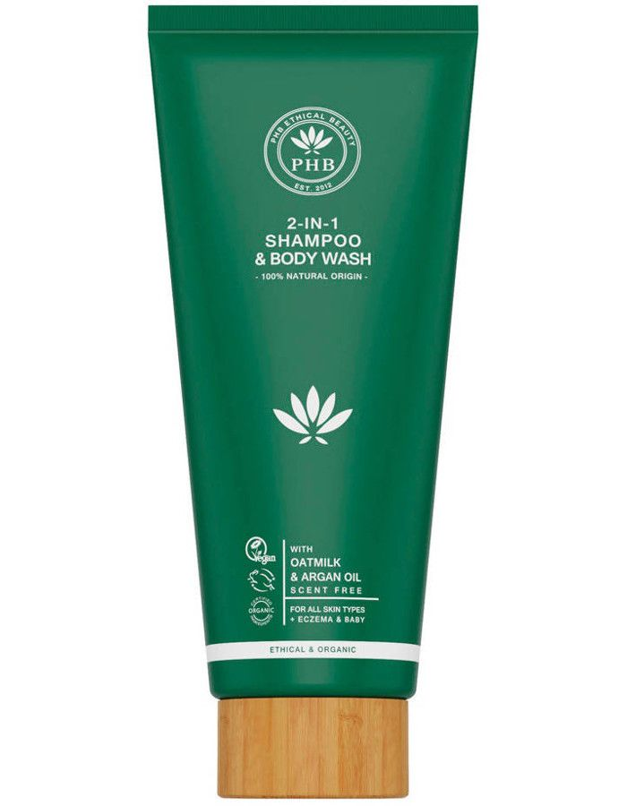 PHB Ethical Beauty 2-in-1 Shampoo & Body Wash 300ml