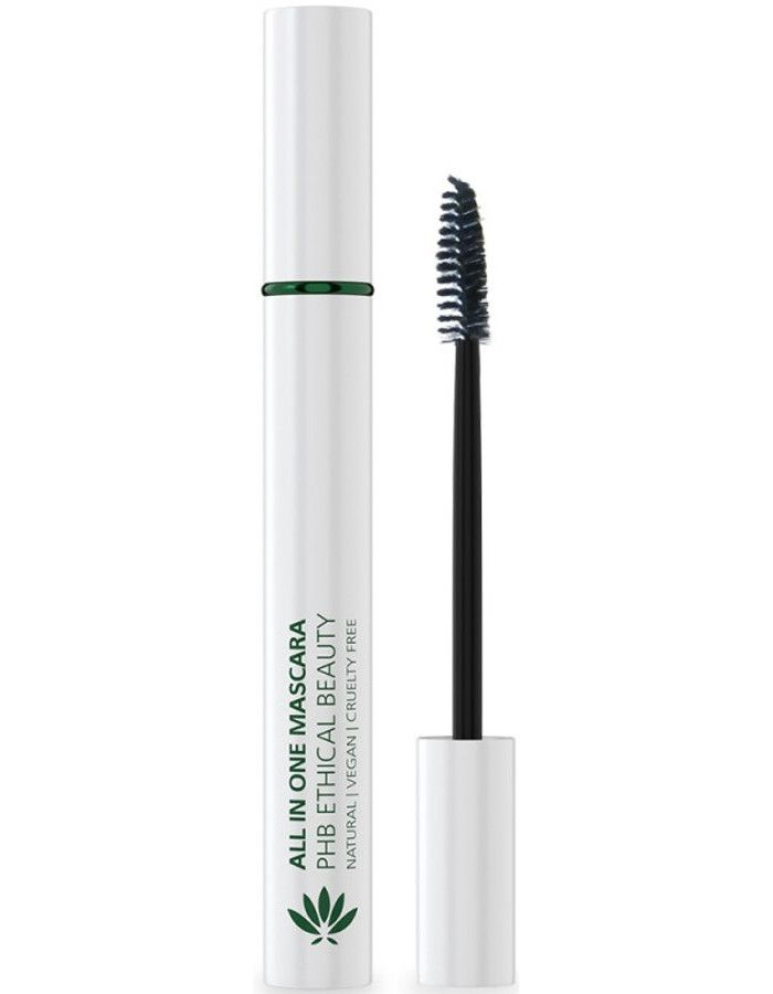 PHB Ethical Beauty All In One Natural Mascara Zwart