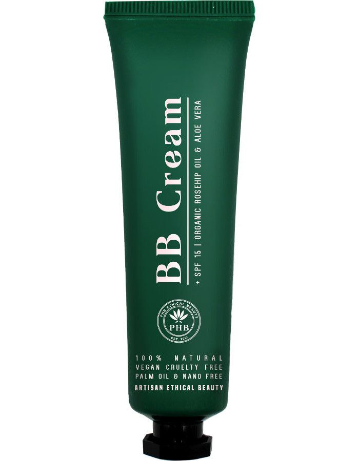 PHB Ethical Beauty Bare Skin BB Cream Spf15 Medium 30ml