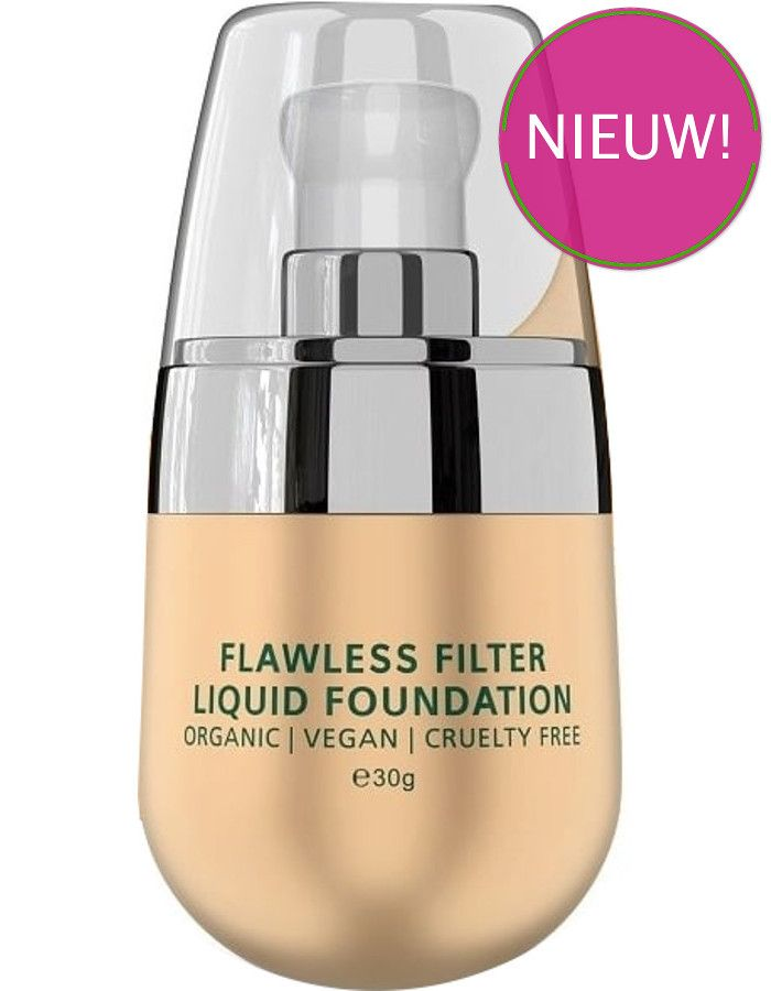 PHB Ethical Beauty Flawless Filter Liquid Foundation Spf30 Medium Rose 30ml