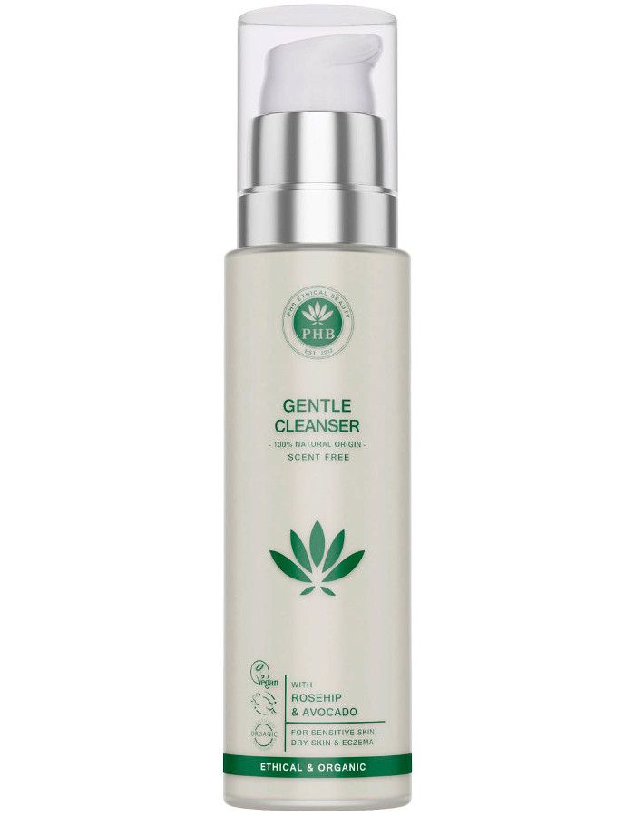 PHB Ethical Beauty Gentle Cleanser Parfumvrij 100ml