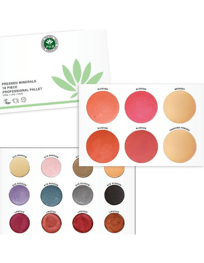 PHB Ethical Beauty Pressed Mineral 18 Piece Palettes