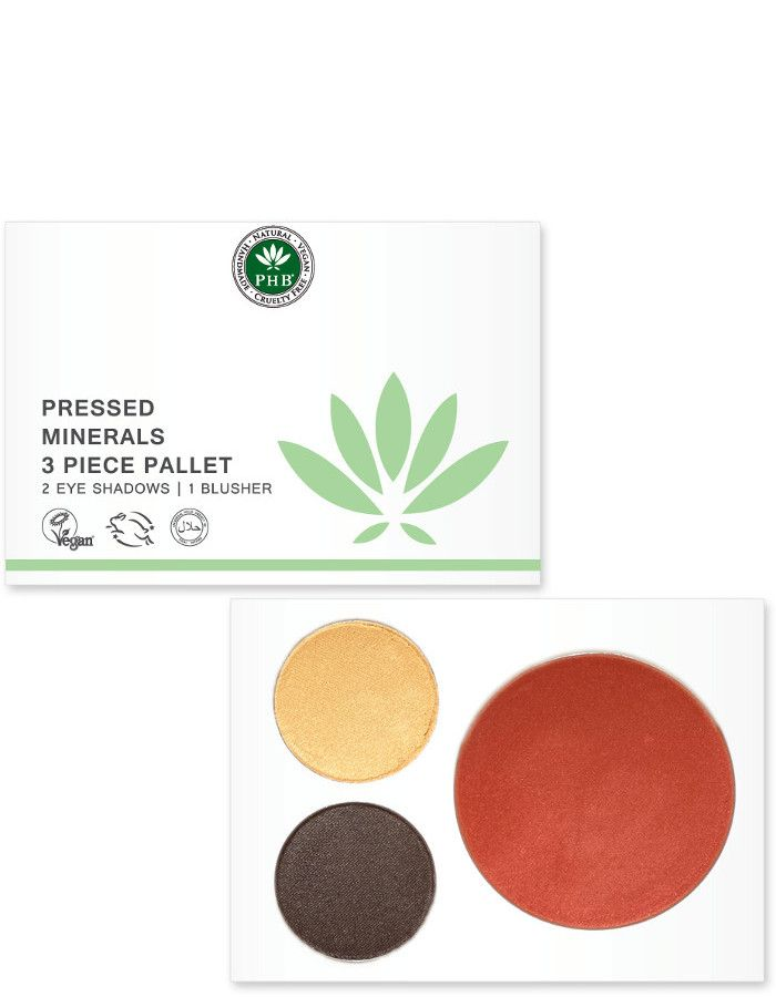 PHB Ethical Beauty Pressed Mineral 3 Piece Palettes Night