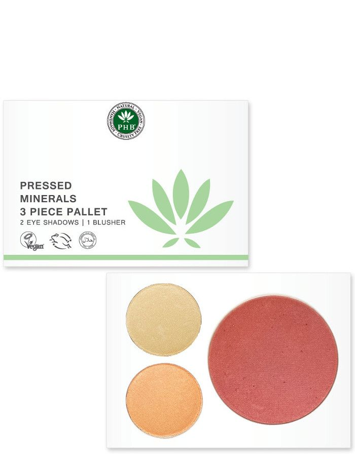 PHB Ethical Beauty Pressed Mineral 3 Piece Palettes Nude
