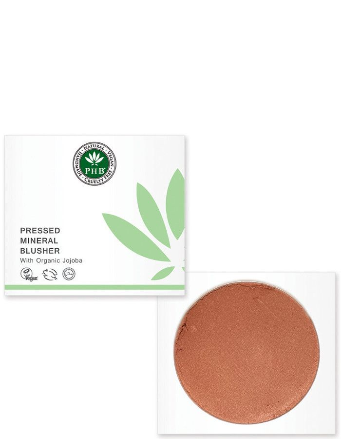 PHB Ethical Beauty Pressed Mineral Blusher Caramel