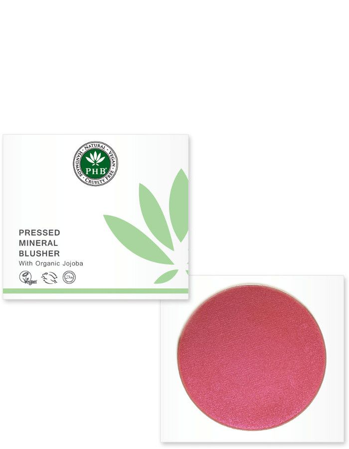 PHB Ethical Beauty Pressed Mineral Blusher Petunia
