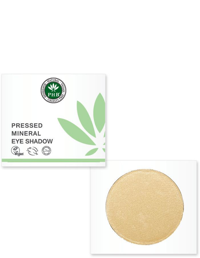 PHB Ethical Beauty Pressed Mineral Eyeshadow Almond