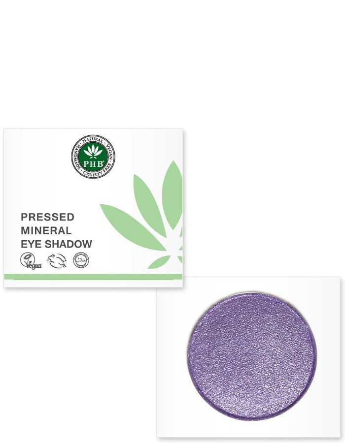 PHB Ethical Beauty Pressed Mineral Eyeshadow Amethyst
