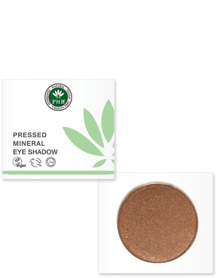 PHB Ethical Beauty Pressed Mineral Eyeshadow Chocolate