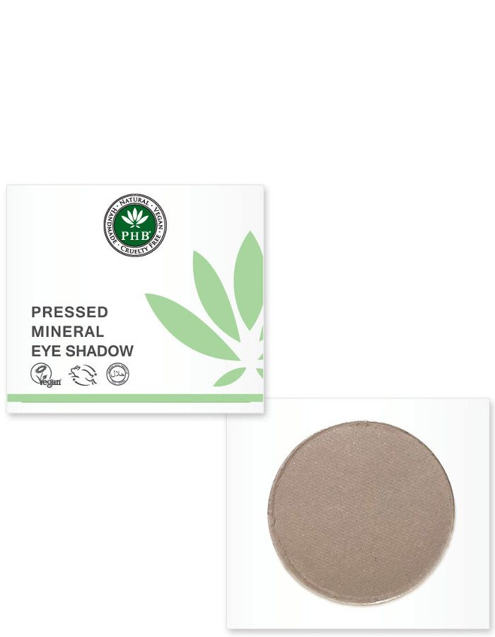 PHB Ethical Beauty Pressed Mineral Eyeshadow Dove Grey