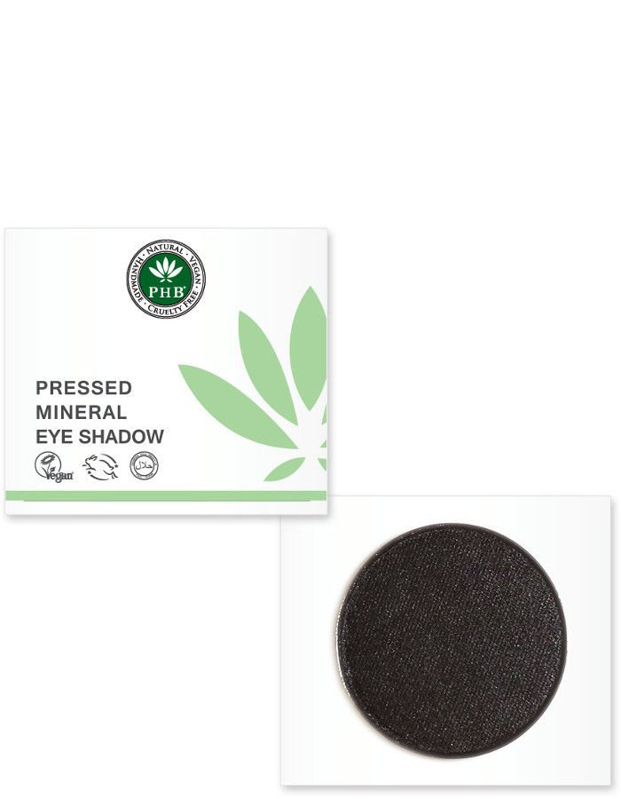 PHB Ethical Beauty Pressed Mineral Eyeshadow Onyx