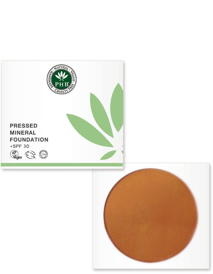 PHB Ethical Beauty Pressed Mineral Foundation Spf30 Caramel