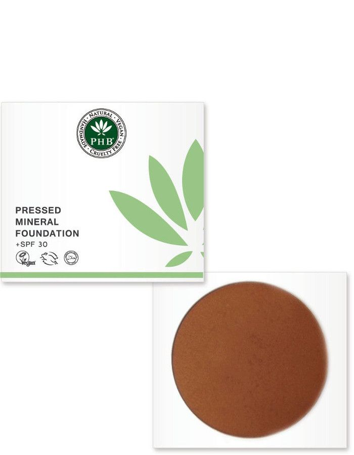 PHB Ethical Beauty Pressed Mineral Foundation Spf30 Cocoa