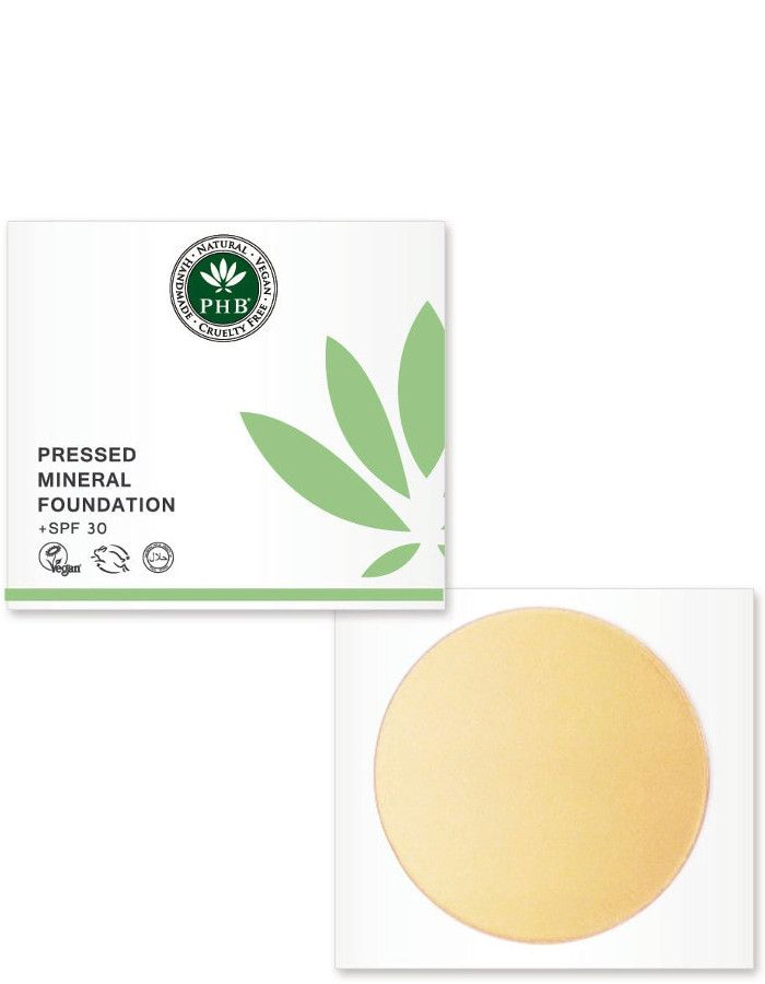 PHB Ethical Beauty Pressed Mineral Foundation Spf30 Fair