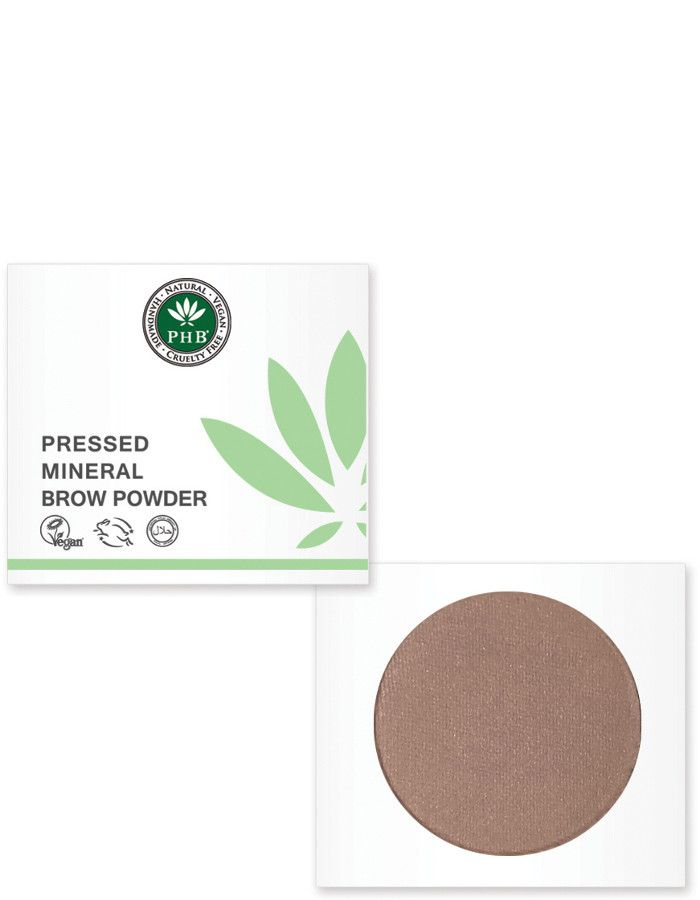 PHB Ethical Beauty Pressed Mineral Wenkbrauw Poeder Asblond