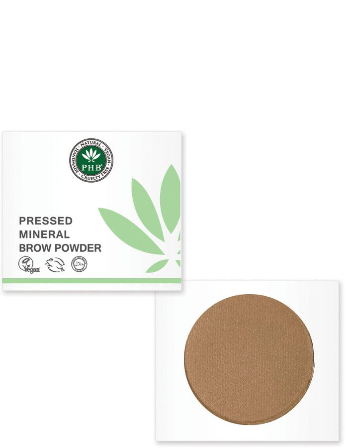PHB Ethical Beauty Pressed Mineral Wenkbrauw Poeder Warm Blond