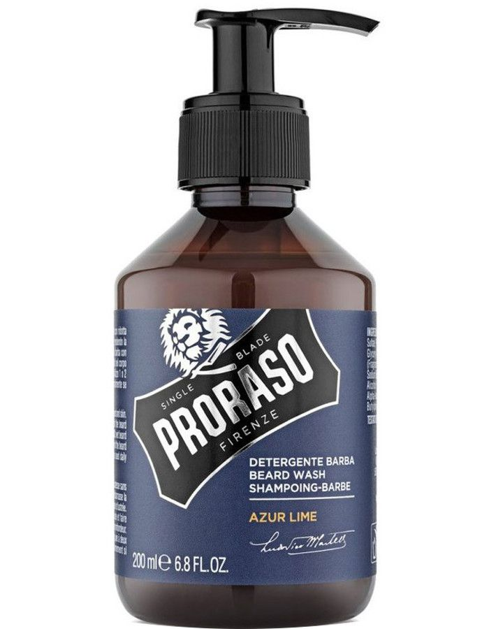 Proraso Baard Shampoo Azur Lime 200ml