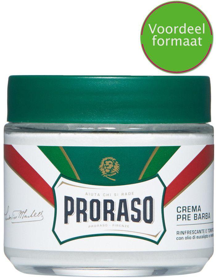 Proraso Pre Shave Creme Eucalyptus Menthol Voordeelformaat 300ml