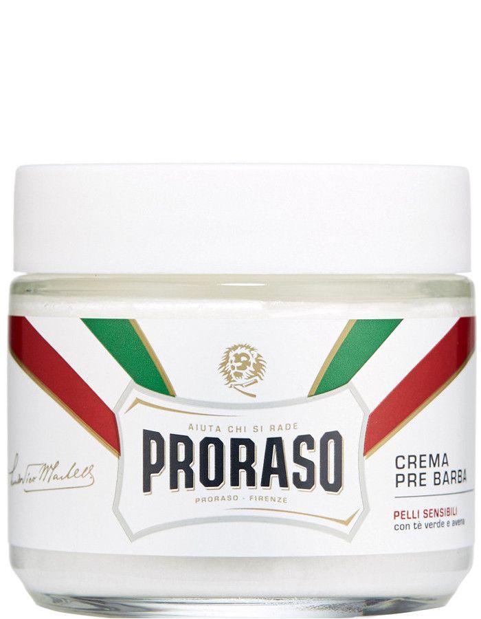 Proraso Pre Shave Creme Gevoelige Huid Aloe Vera Groene Thee 100ml