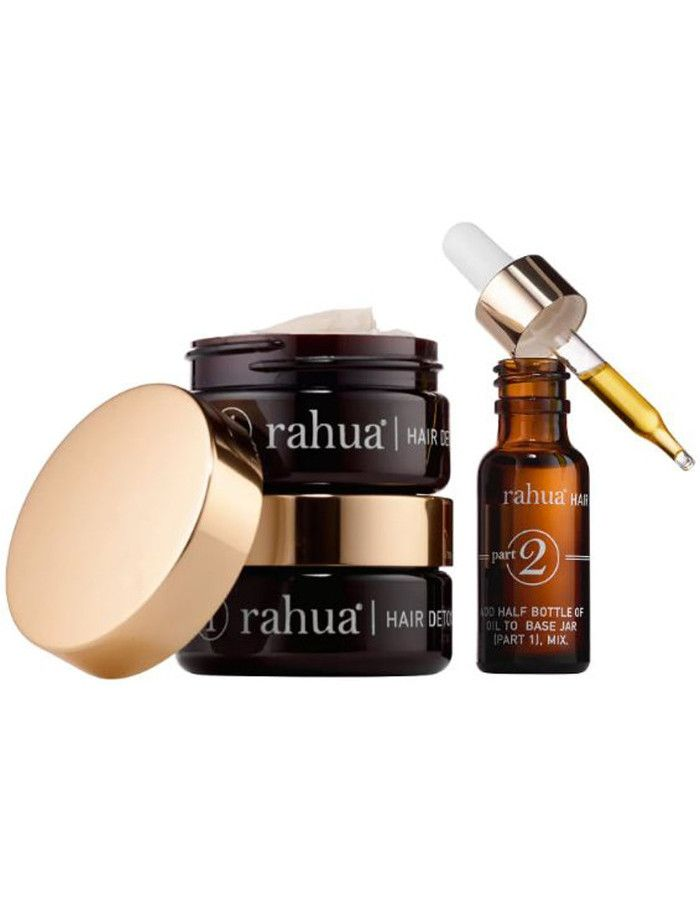 Rahua Hair Detox And Renewal Treatment Kit 3-Delig