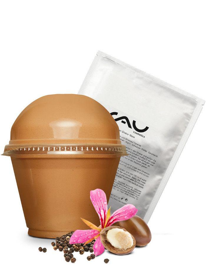 Rau Cosmetics Argan Shaker Met Ghassoul Gezichtsmasker