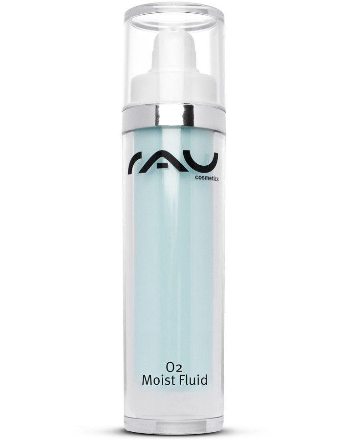 Rau Cosmetics O2 Moist Dag-en Nacht Fluid Met Hyaluronzuur 50ml