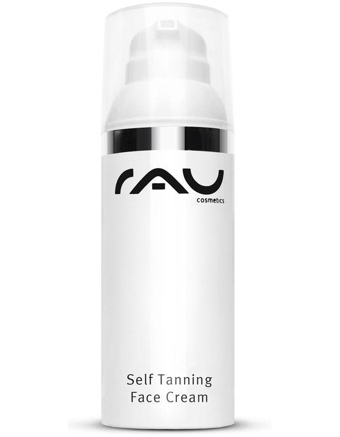 Rau Cosmetics Self Tanning Face Cream Met Bescherming 50ml