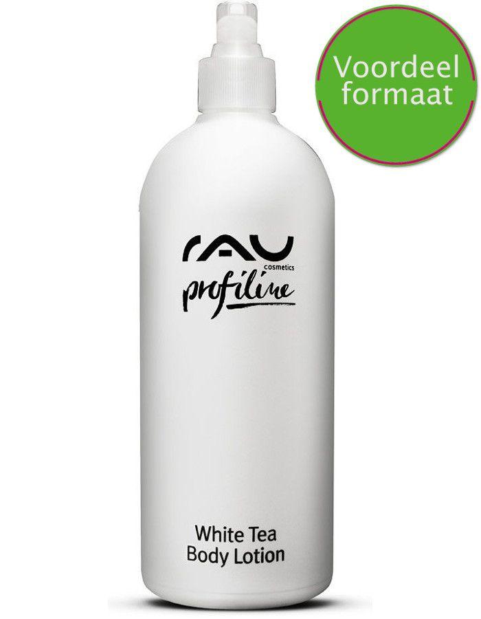 Rau Cosmetics White Tea Body Lotion Met Aloe Vera Voordeelformaat 500ml