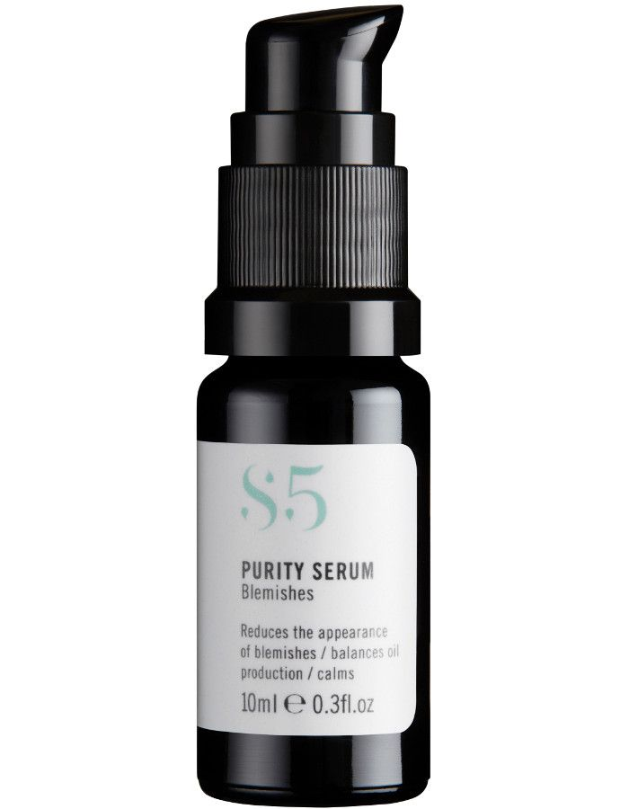 S5 Skincare Purity Serum Blemishes Travel Size 10ml