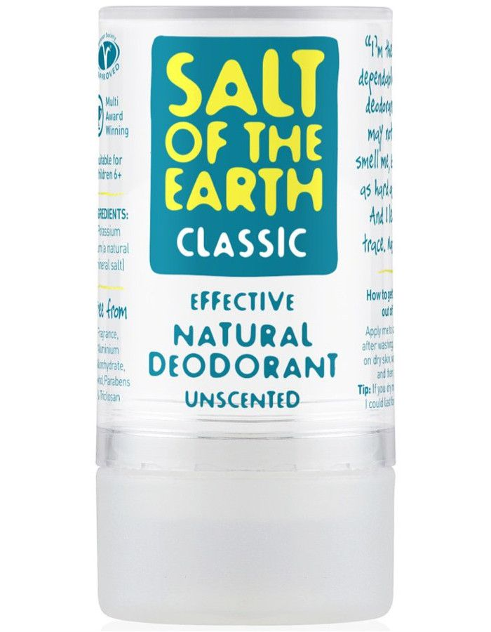 Salt Of The Earth Deodorant Stick Naturel Ongeparfumeerd 90gr