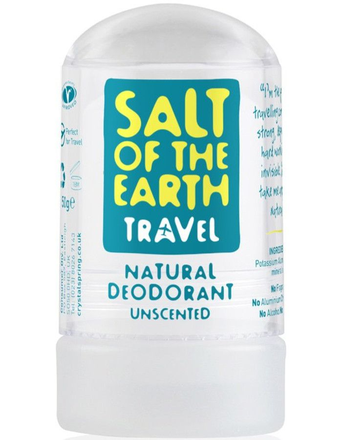 Salt Of The Earth Deodorant Stick Naturel Ongeparfumeerd Travelsize 50gr
