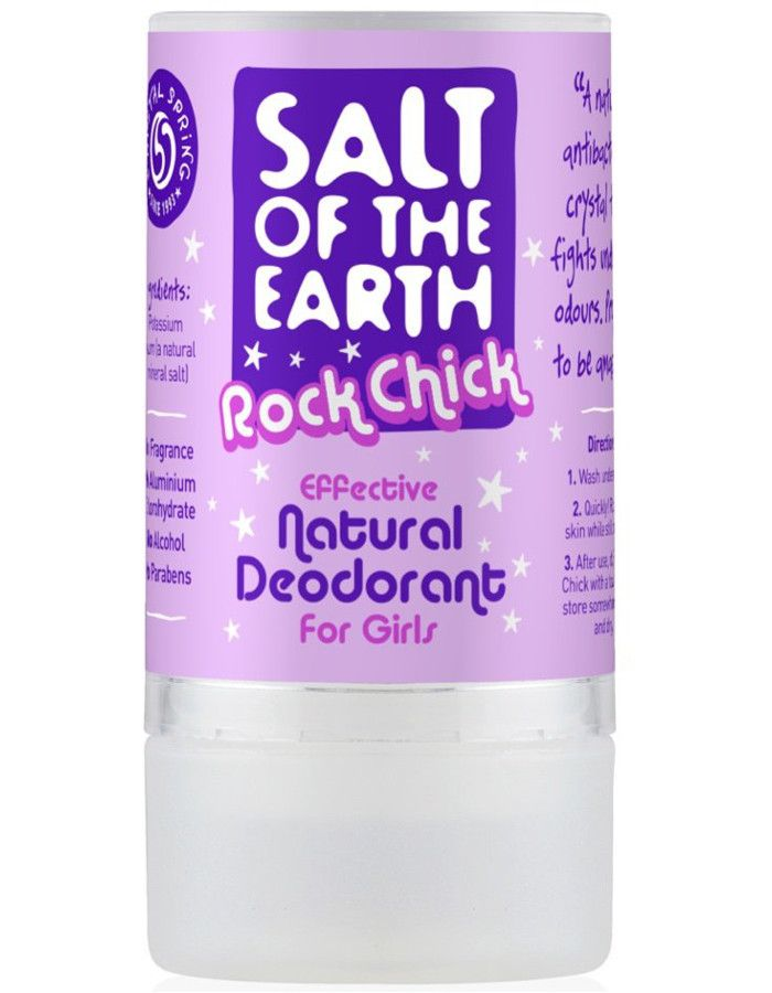 Salt Of The Earth Deodorant Stick Rock Chick Girls 90gr