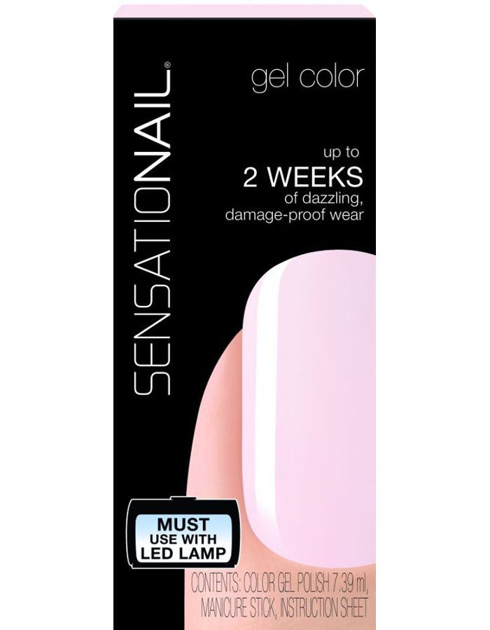 Sensationail Gel Color Nagellak Babydoll Pink 7.39ml