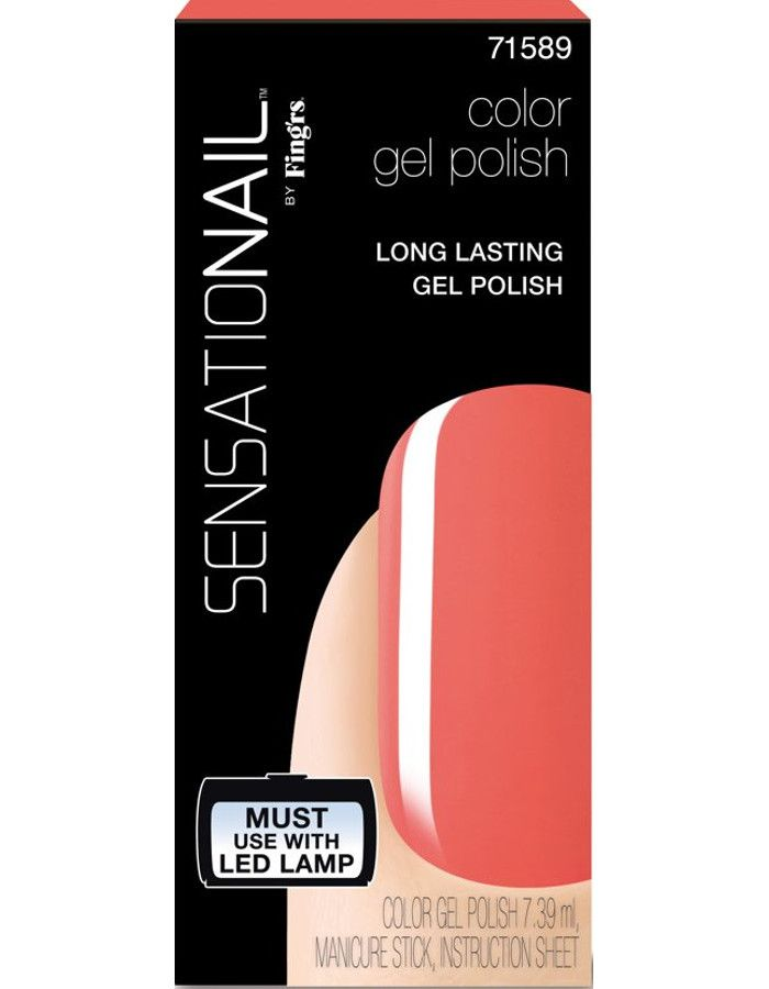 Sensationail Gel Color Nagellak Coral Sunset 7.39ml